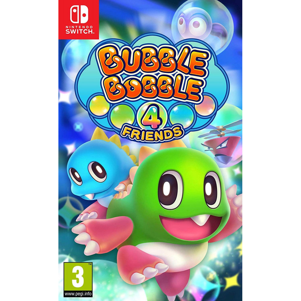 BUBBLE BOBBLE 4 FRIENDS SWITCH FR NEW