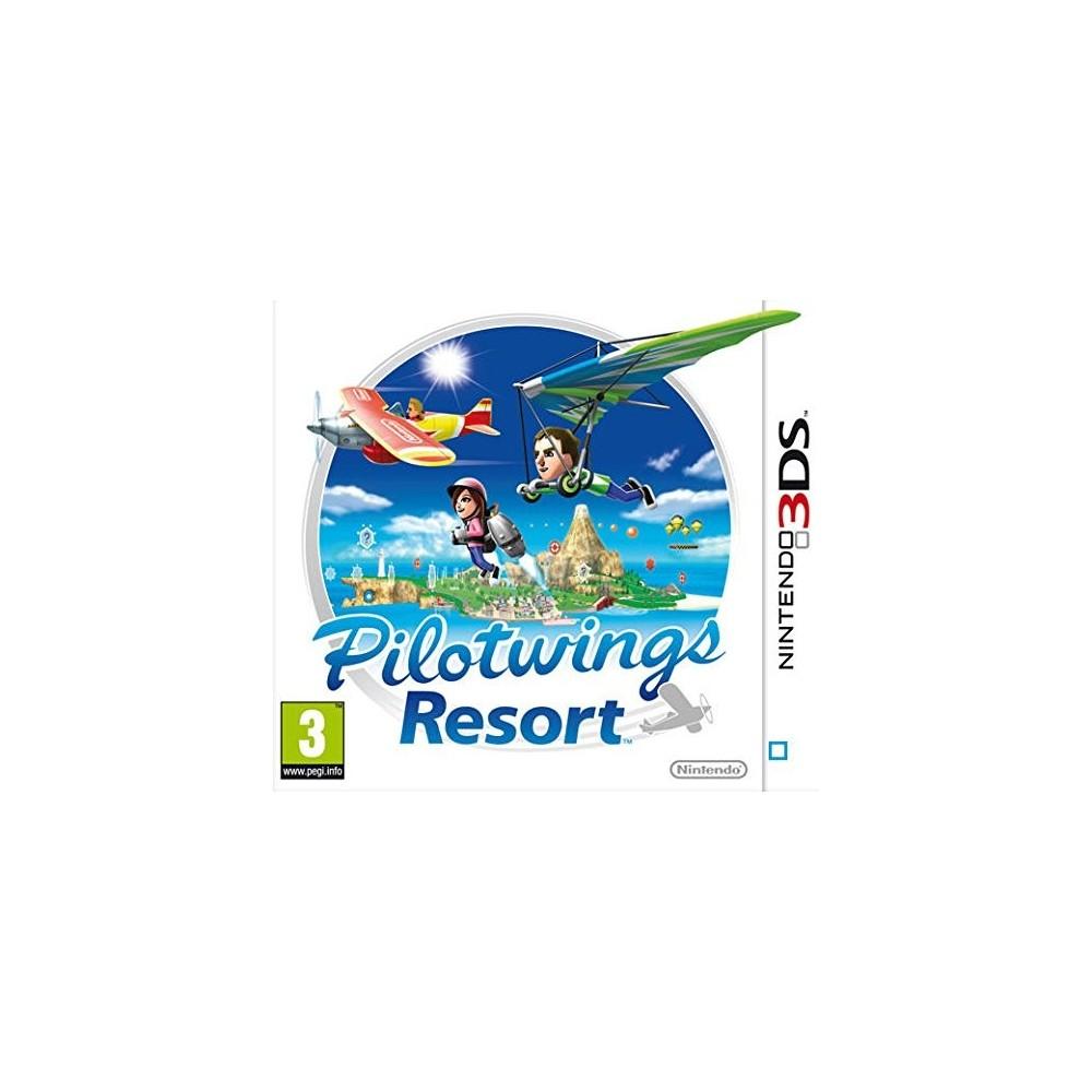 PILOTWINGS RESORT 3DS EURO ESPAGNOL / PORTUGAIS AVEC TEXTE EN FRANCAIS OCCASION