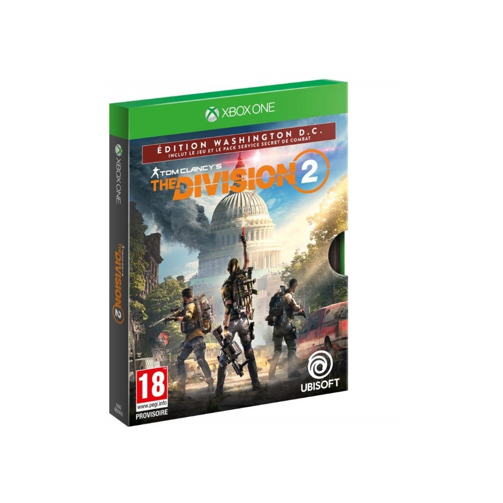 THE DIVISION 2 EDITION WASHINGTON D.C XBOX ONE FR OCCASION