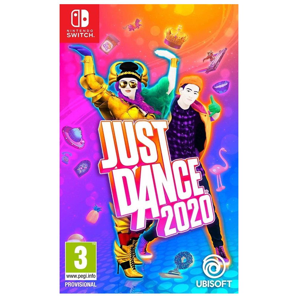 JUST DANCE 2020 SWITCH FR OCCASION