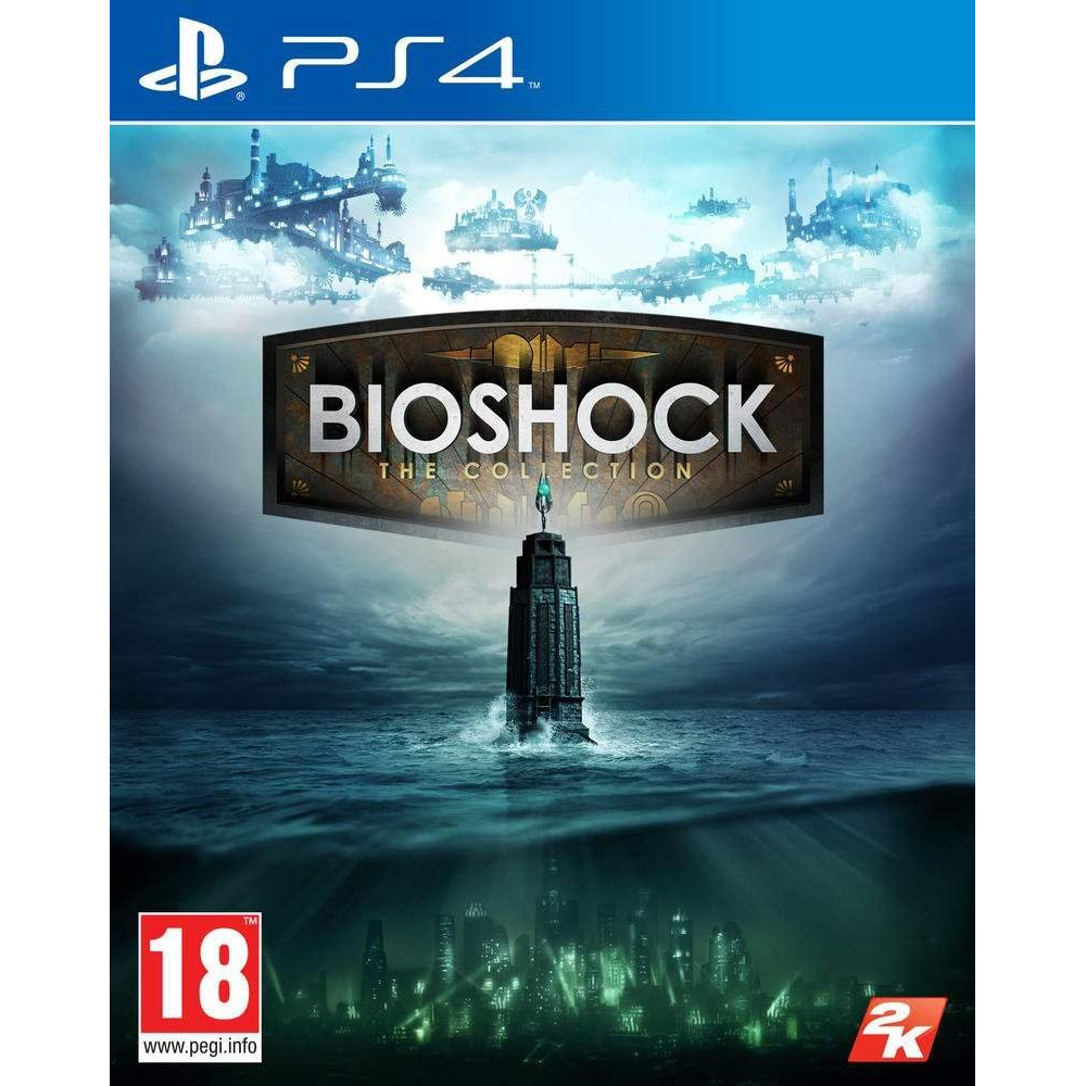 BIOSHOCK THE COLLECTION PS4 EURO OCCASION
