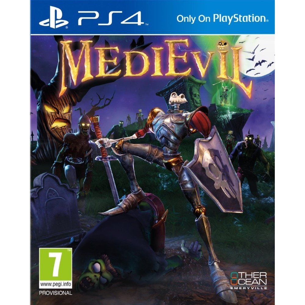 MEDIEVIL PS4 EURO FR OCCASION