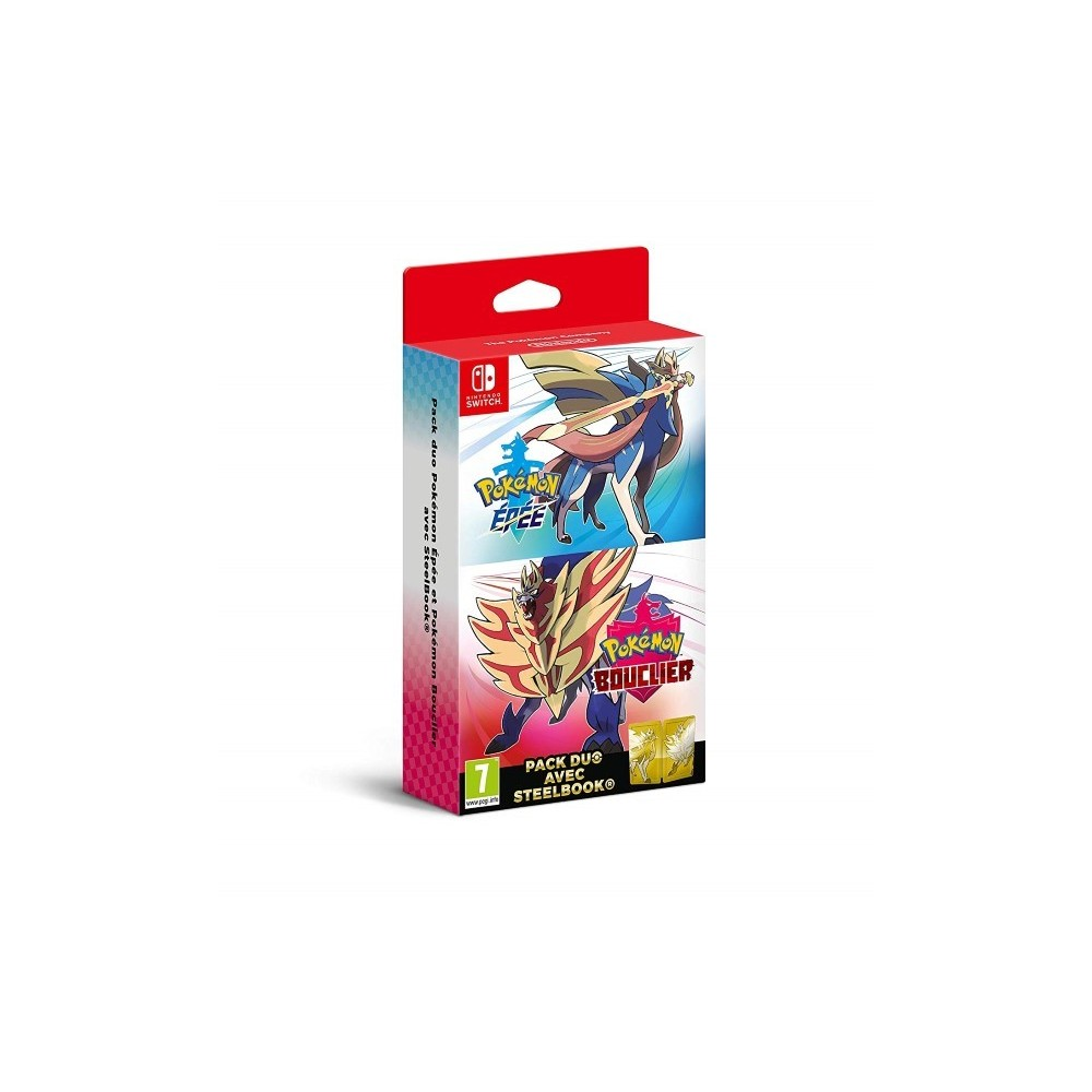 POKEMON BOUCLIER SWITCH PAL FR NEW
