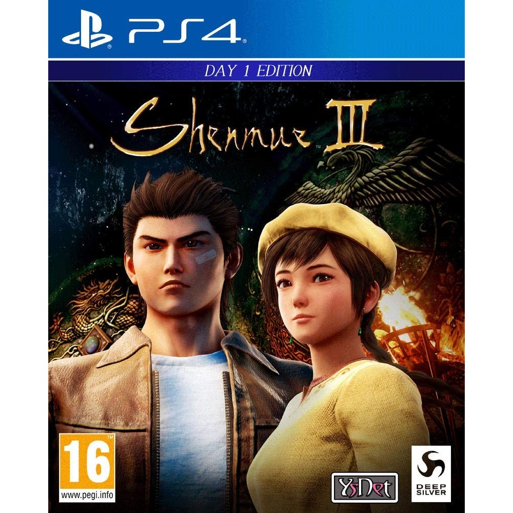 SHENMUE 3 PS4 UK NEW
