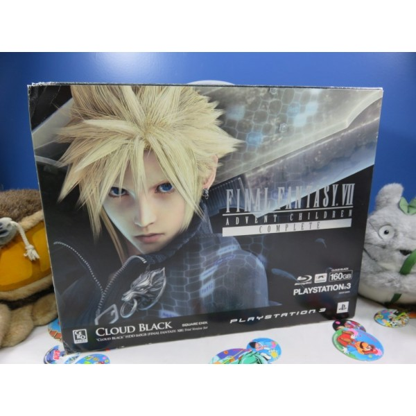 CONSOLE PS3 FINAL FANTASY ADVENT CHILDREN CLOUD BLACK LIMITED EDITION NTSC-JPN OCCASION