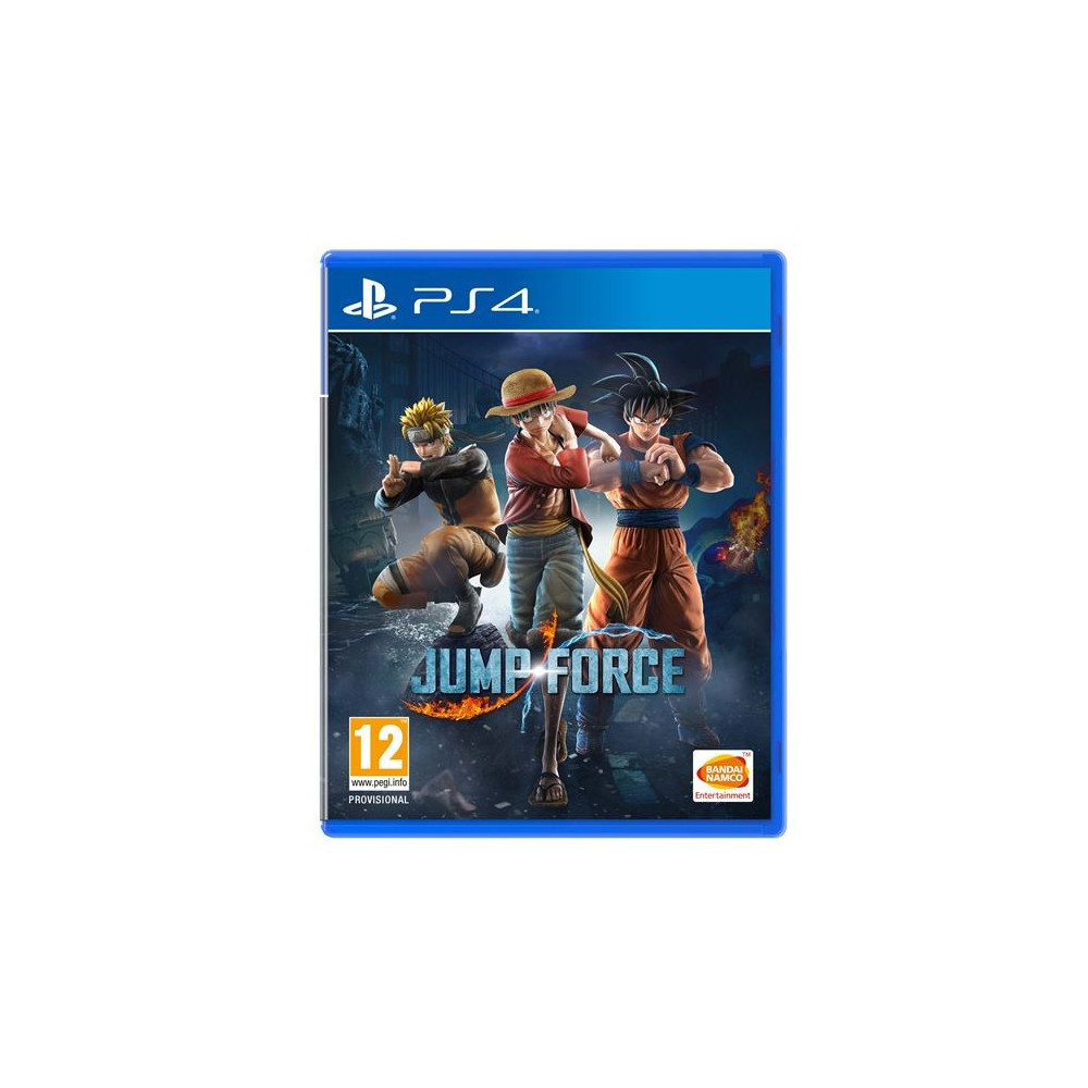 JUMP FORCE DELUXE EDITION PS4 FR OCCASION