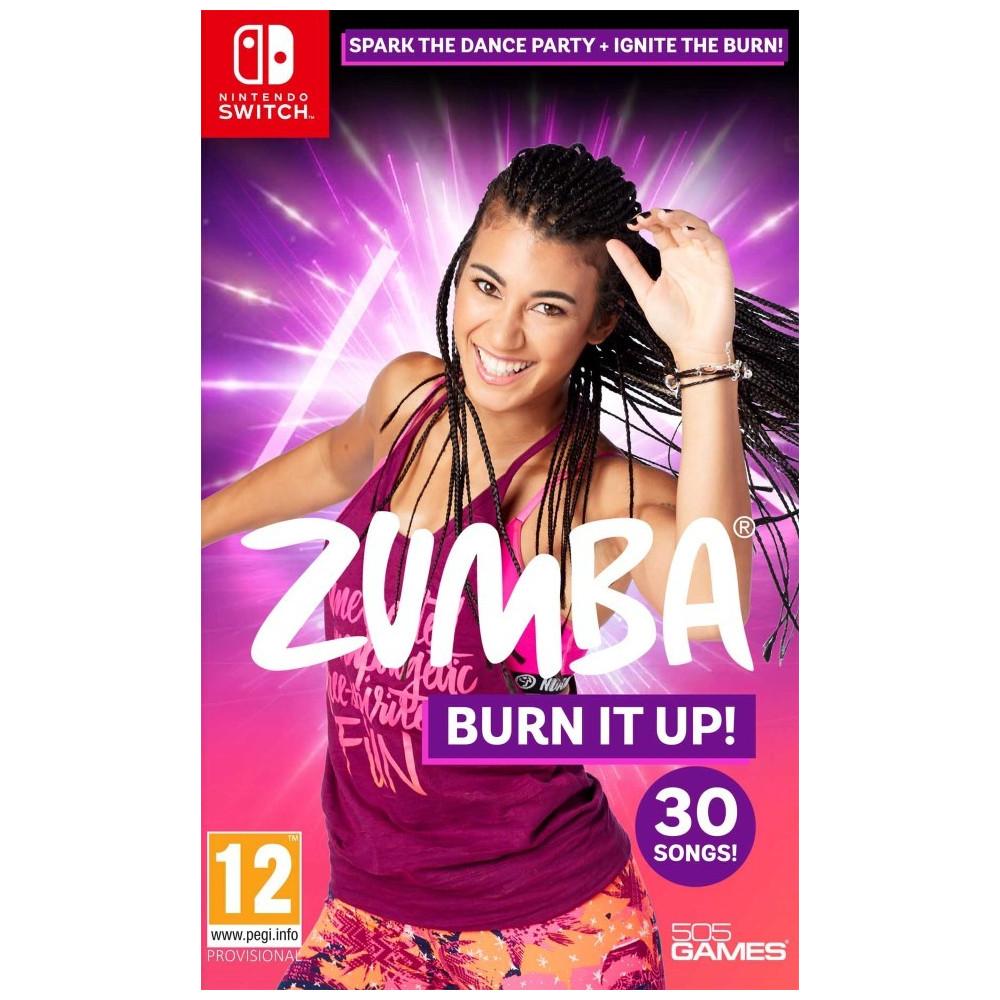 ZUMBA BURN IT UP SWITCH UK NEW