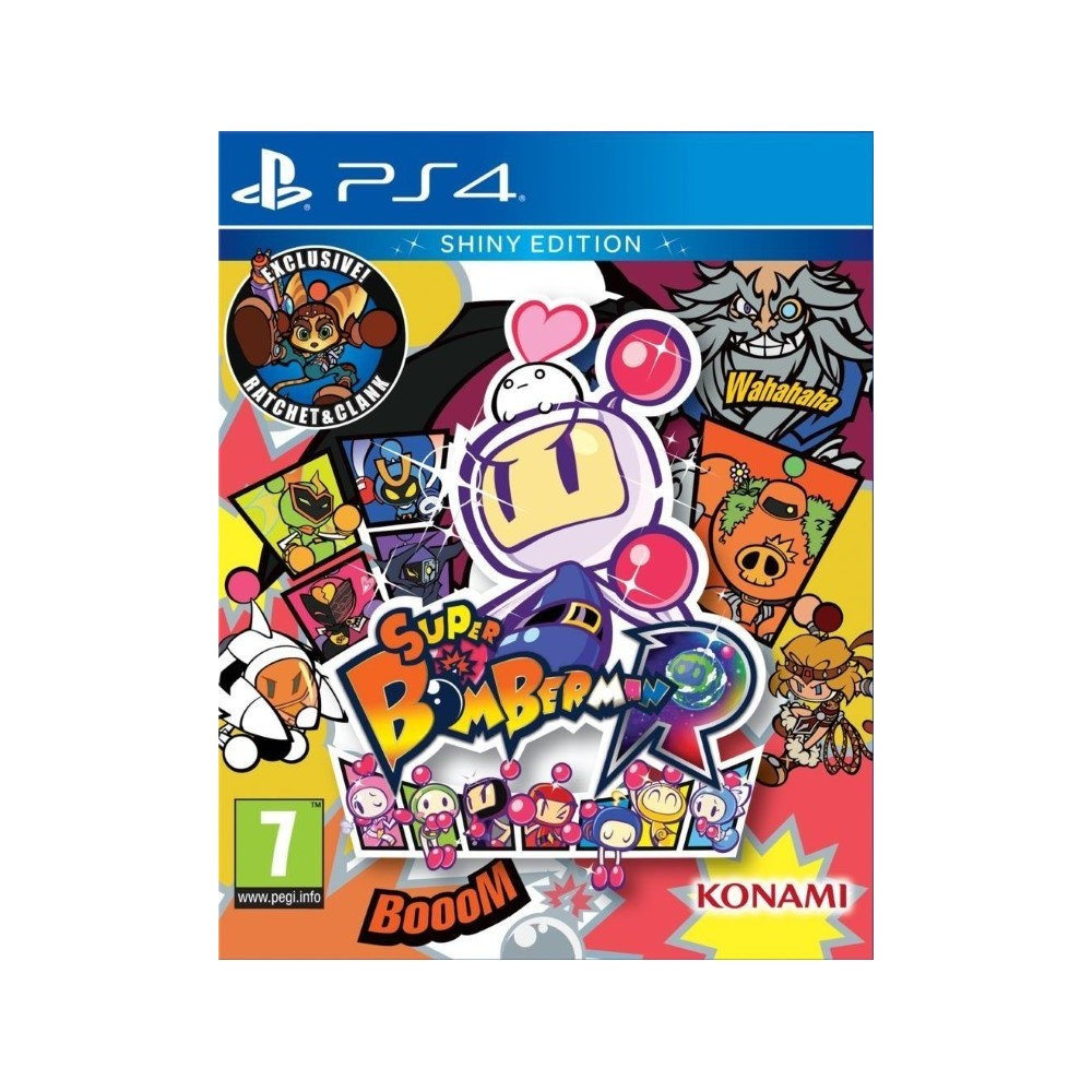 SUPER BOMBERMAN R SHINY EDITION PS4 FR OCCASION