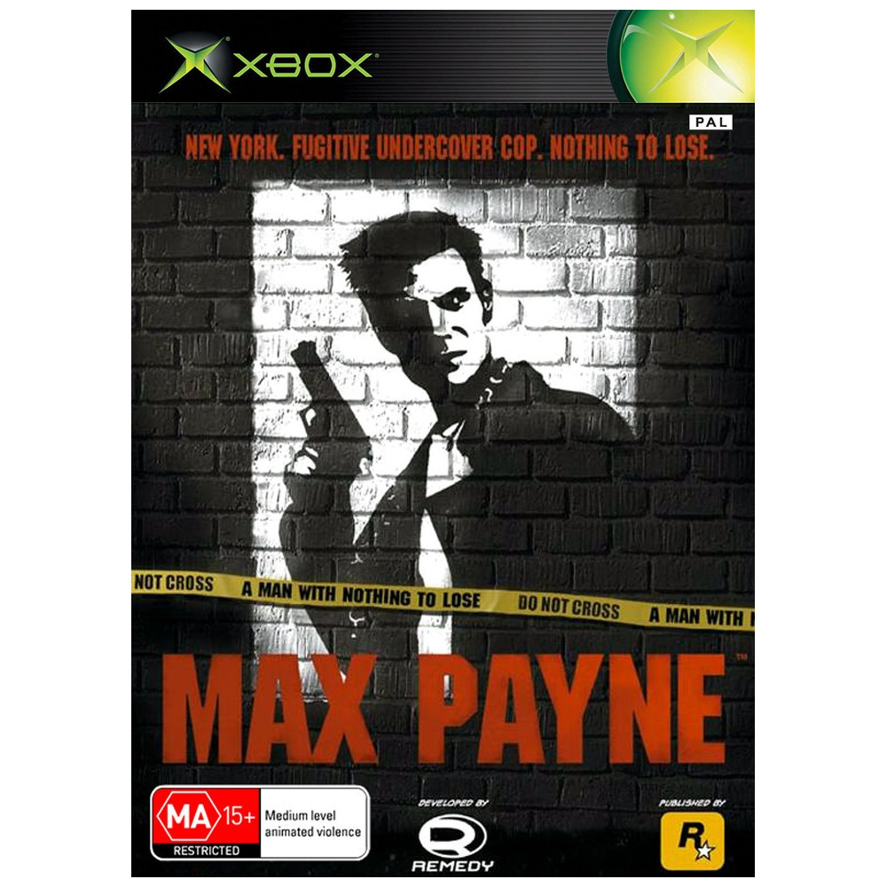 MAX PAYNE XBOX PAL-FR OCCASION