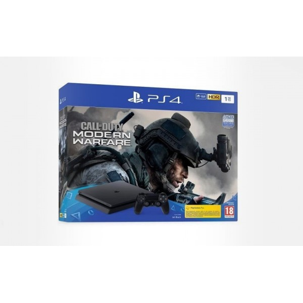 CONSOLE PS4 SLIM 1 TO + SPIDERMAN EURO NEW