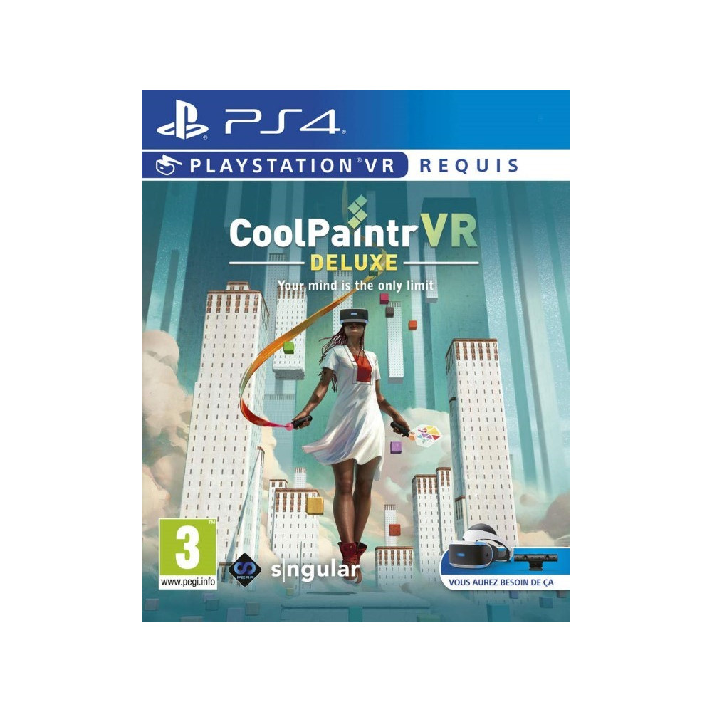 COOLPAINTR VR PS4 UK NEW