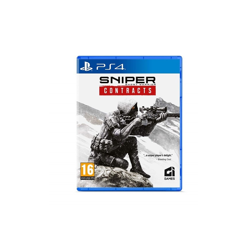 SNIPER GHOST WARRIOR CONTRACTS PS4 FR OCCASION
