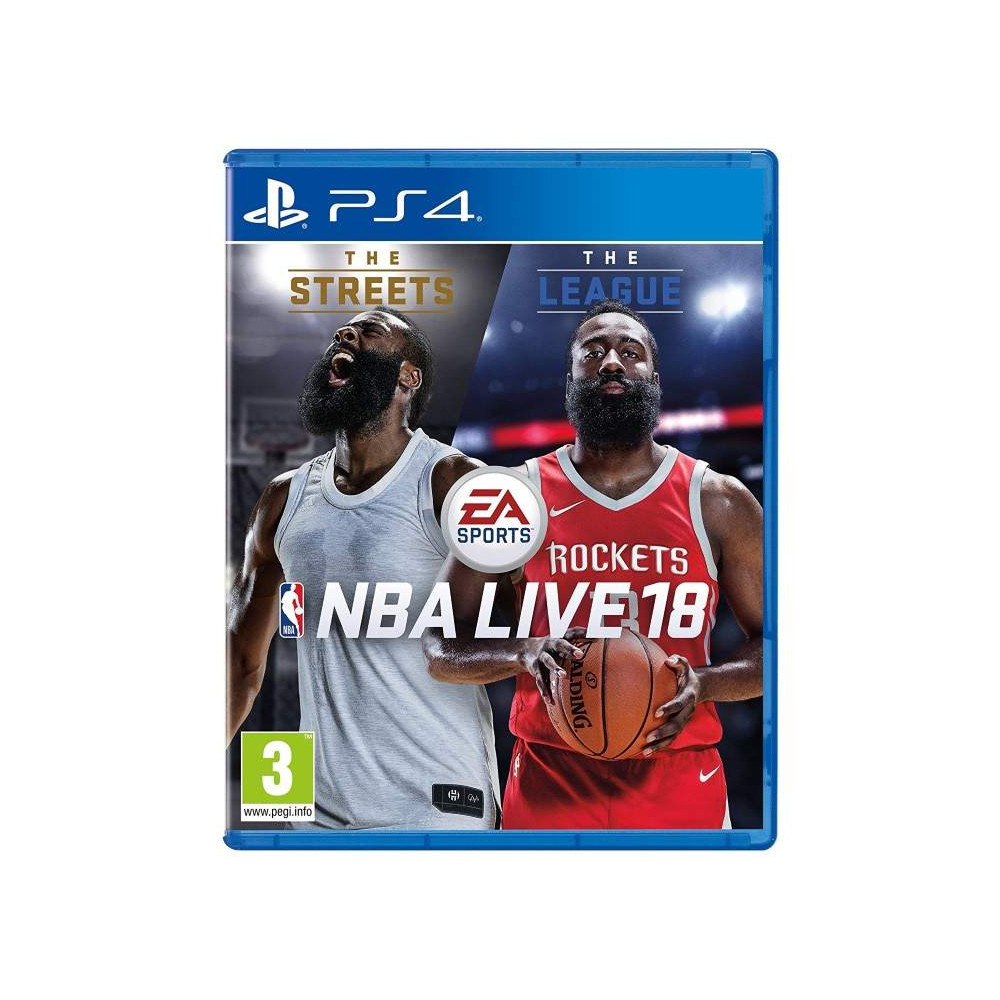 NBA LIVE 18 PS4 FR OCCASION