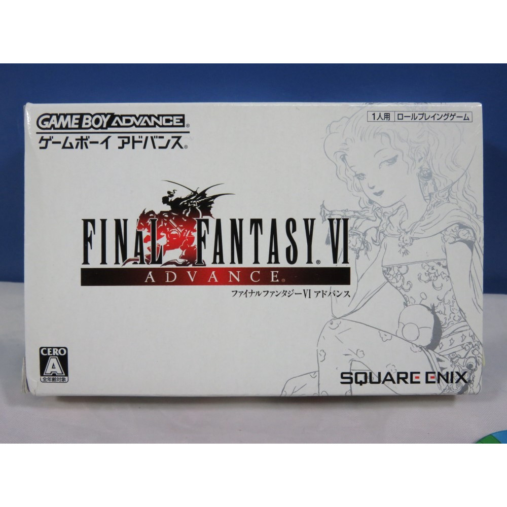 FINAL FANTASY VI GAME BOY ADVANCE JPN OCCASION