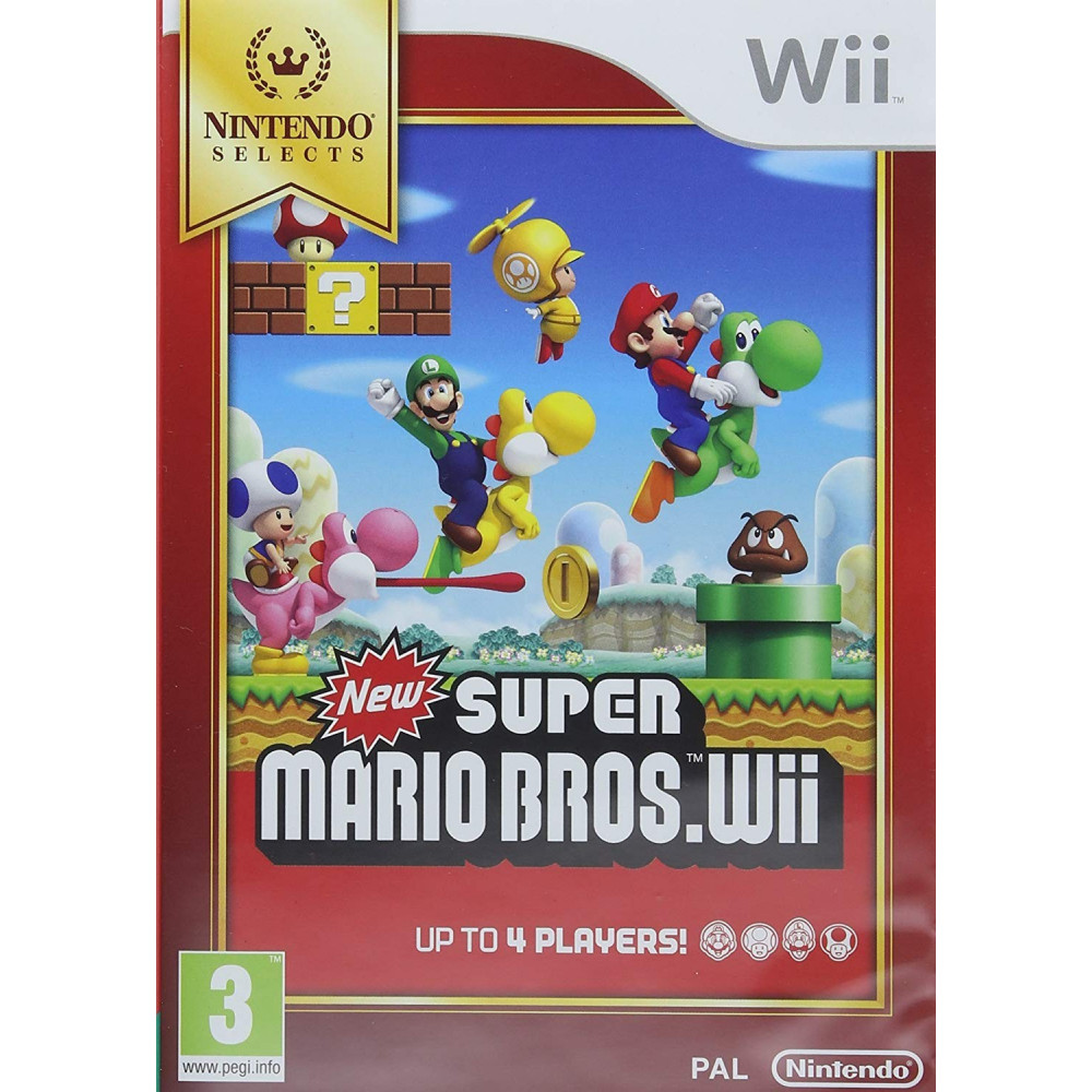 NEW SUPER MARIO BROS WII PAL-UK NEW