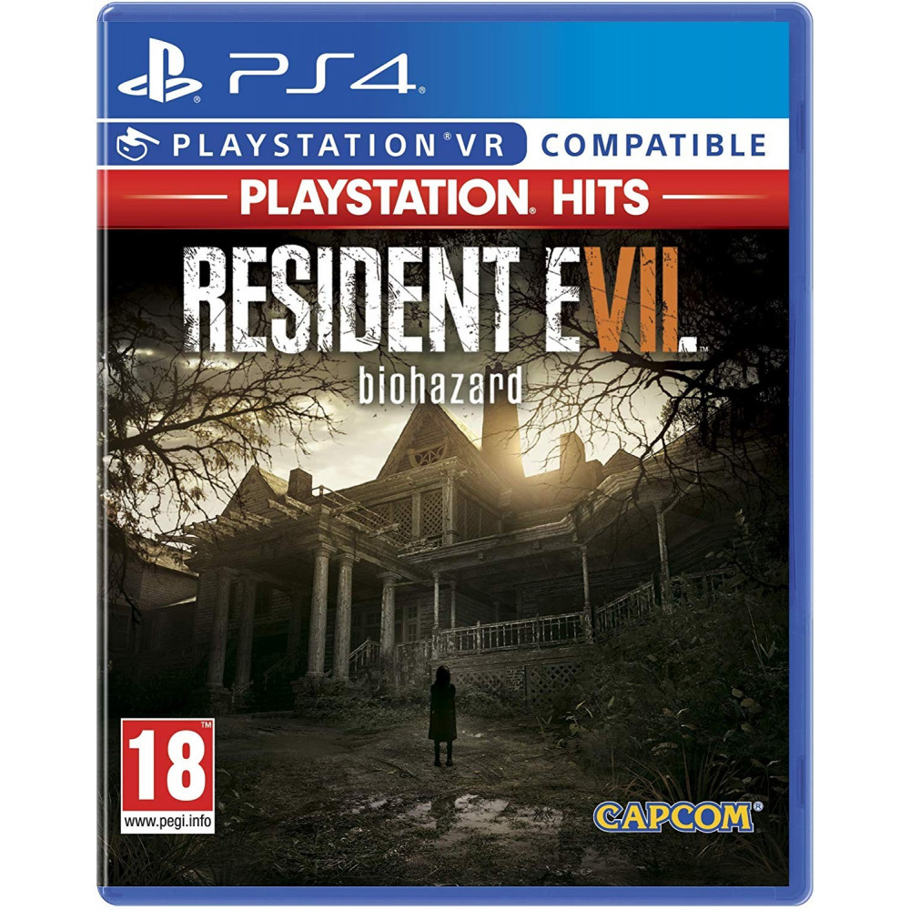 RESIDENT EVIL VII PLAYSTATION HITS PS4 UK NEW