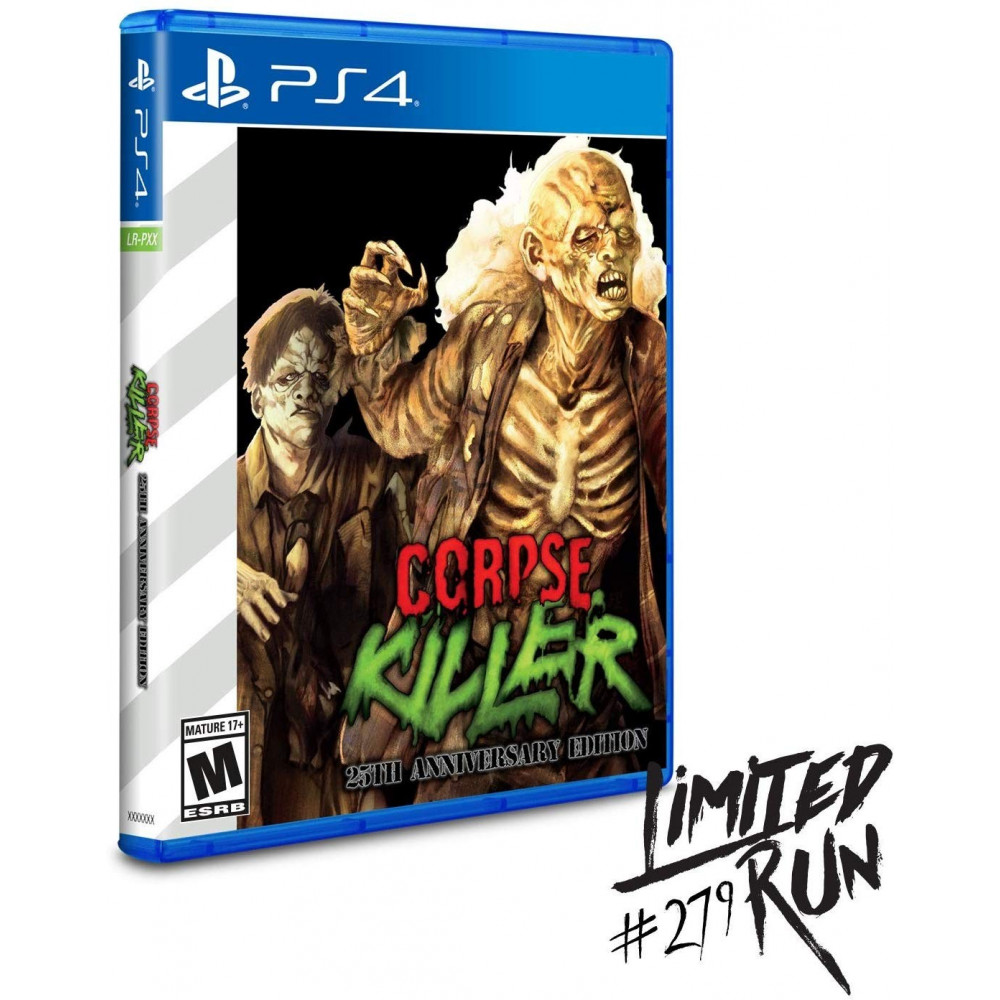 CORPSE KILLER 25TH ANNIVERSARY EDITION PS4 US NEW