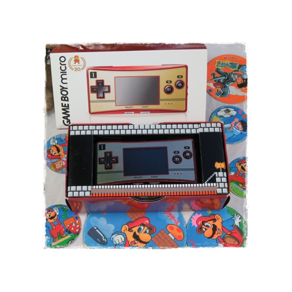 CONSOLE GBA MICRO FAMICOM EDITION 20TH JPN OCCASION