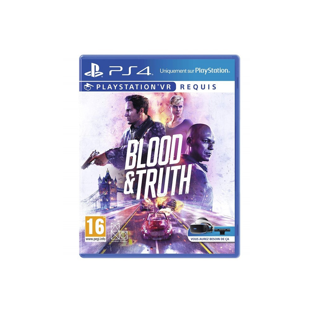 BLOOD & TRUTH PS4 MULTI FR OCCASION