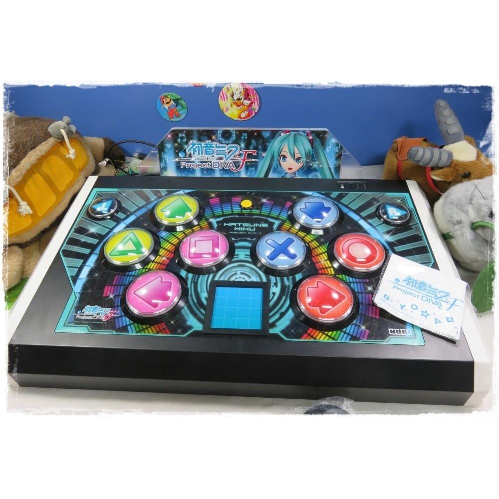 CONTROLLER HATSUNE MIKU -PROJECT DIVA- F PS3 JPN HORI ARCADE SIZE (HP3-939)