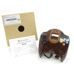 CONTROLLER DREAMCAST DREAM POINT BANK WOOD JPN (MINT)