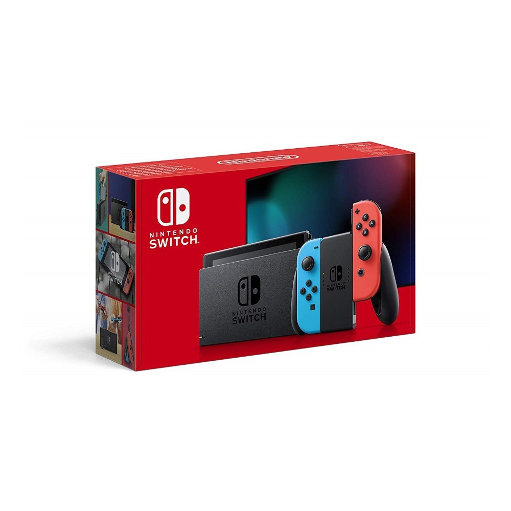 CONSOLE SWITCH BLEU ET ROUGE FR NEW