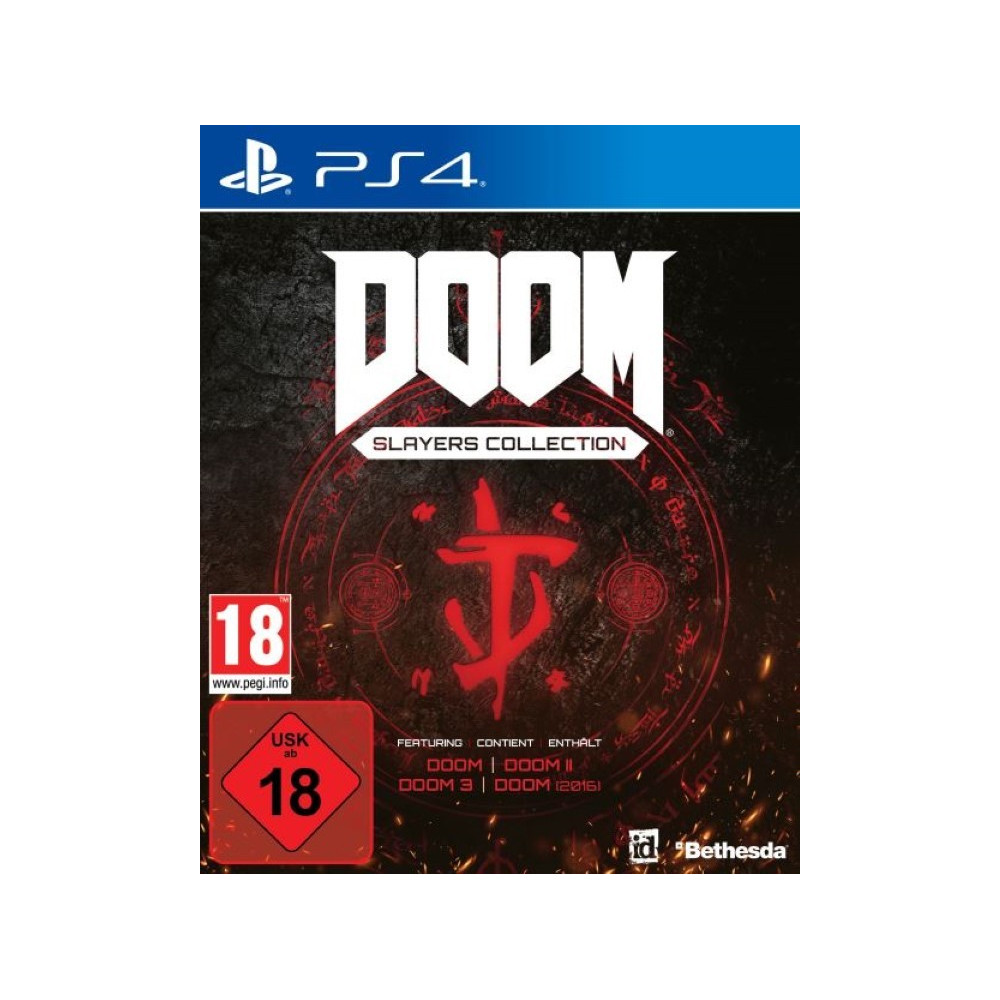 DOOM SLAYERS COLLECTION PS4 EURO FR NEW