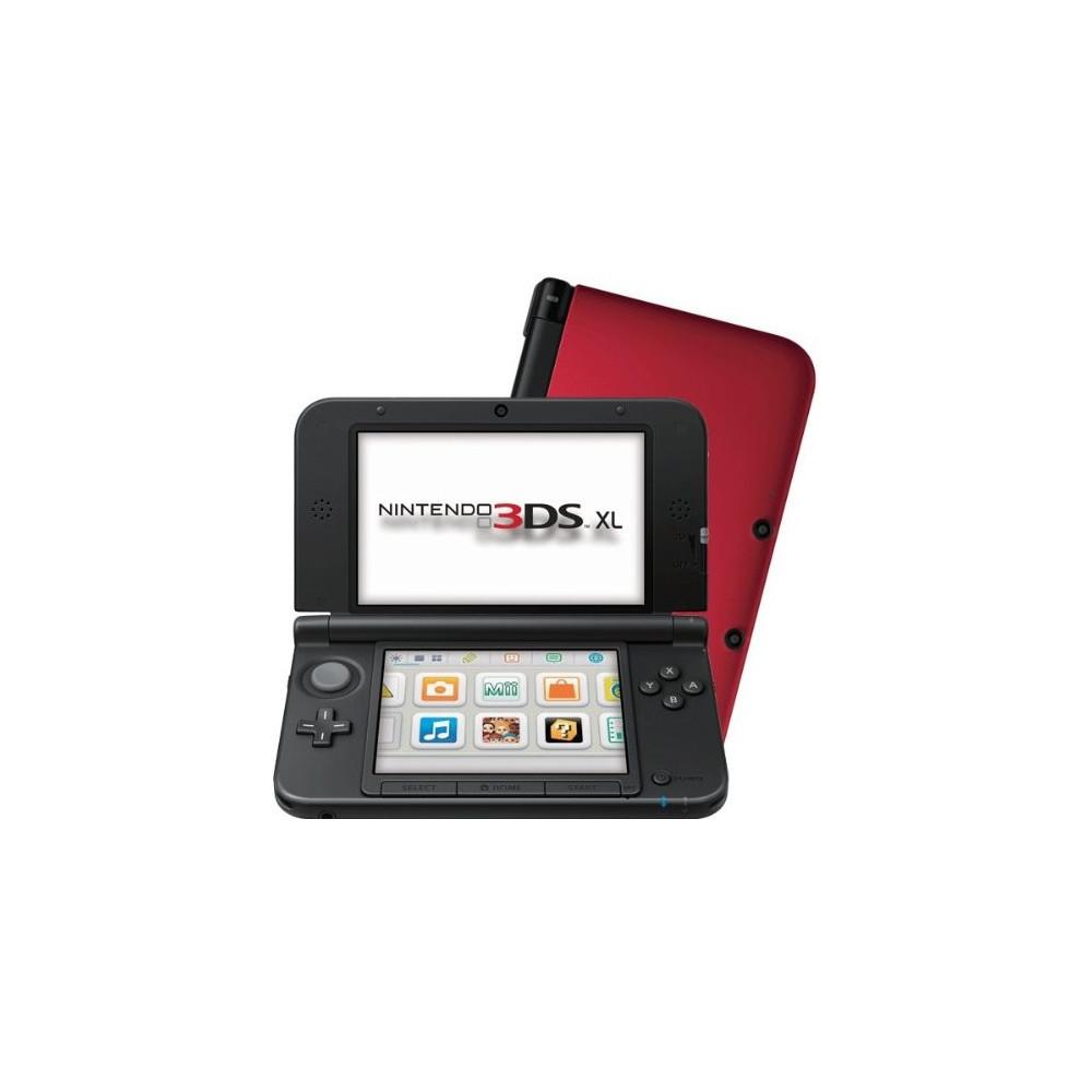 CONSOLE 3DS XL ROUGE ET NOIR OCCASION