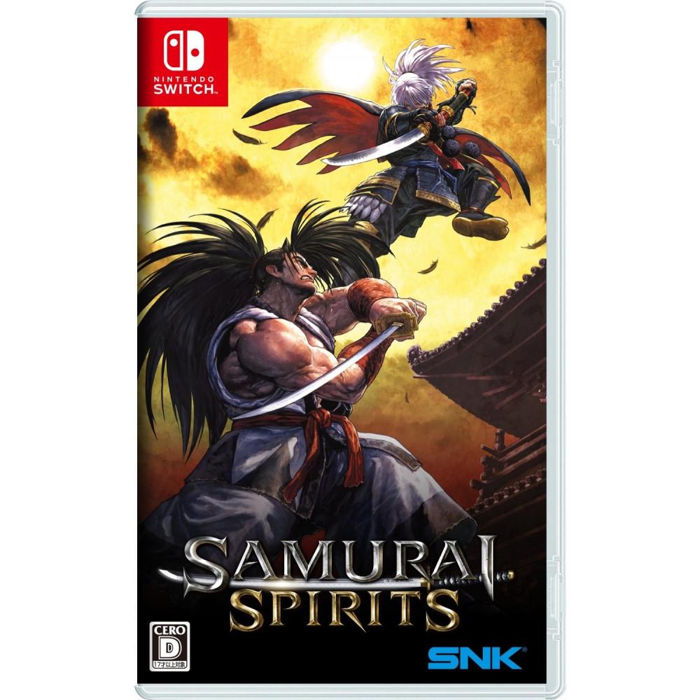 SAMURAI SPIRITS SWITCH JPN NEW