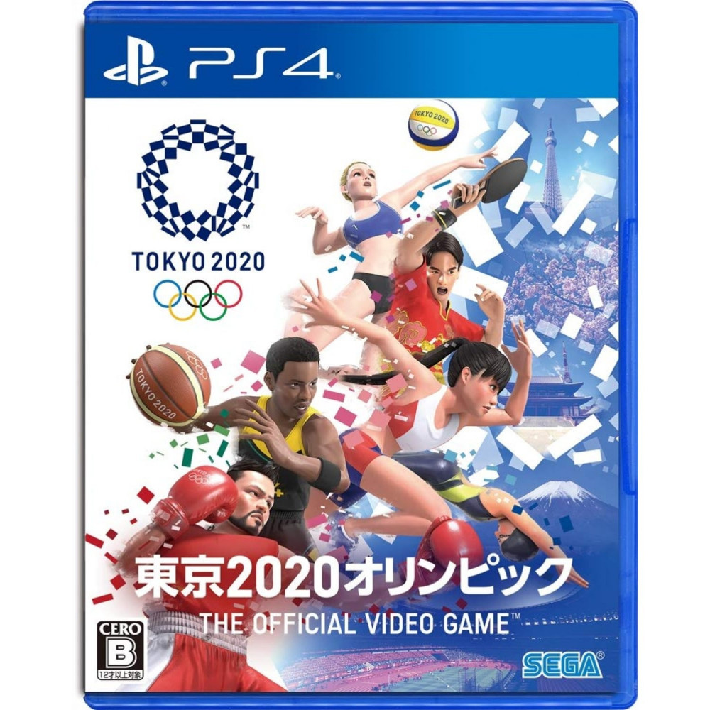 OLYMPIC GAMES TOKYO 2020: THE OFFICIAL VIDEO GAME PS4 JAP NEW