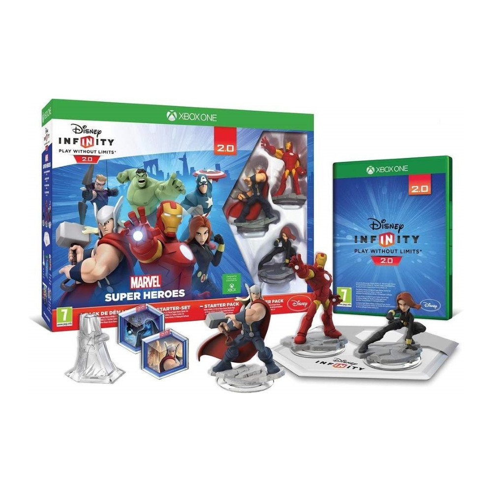 DISNEY INFINITY 2.0 + FIGURINE ET SOCLE XBOX ONE FR OCCASION