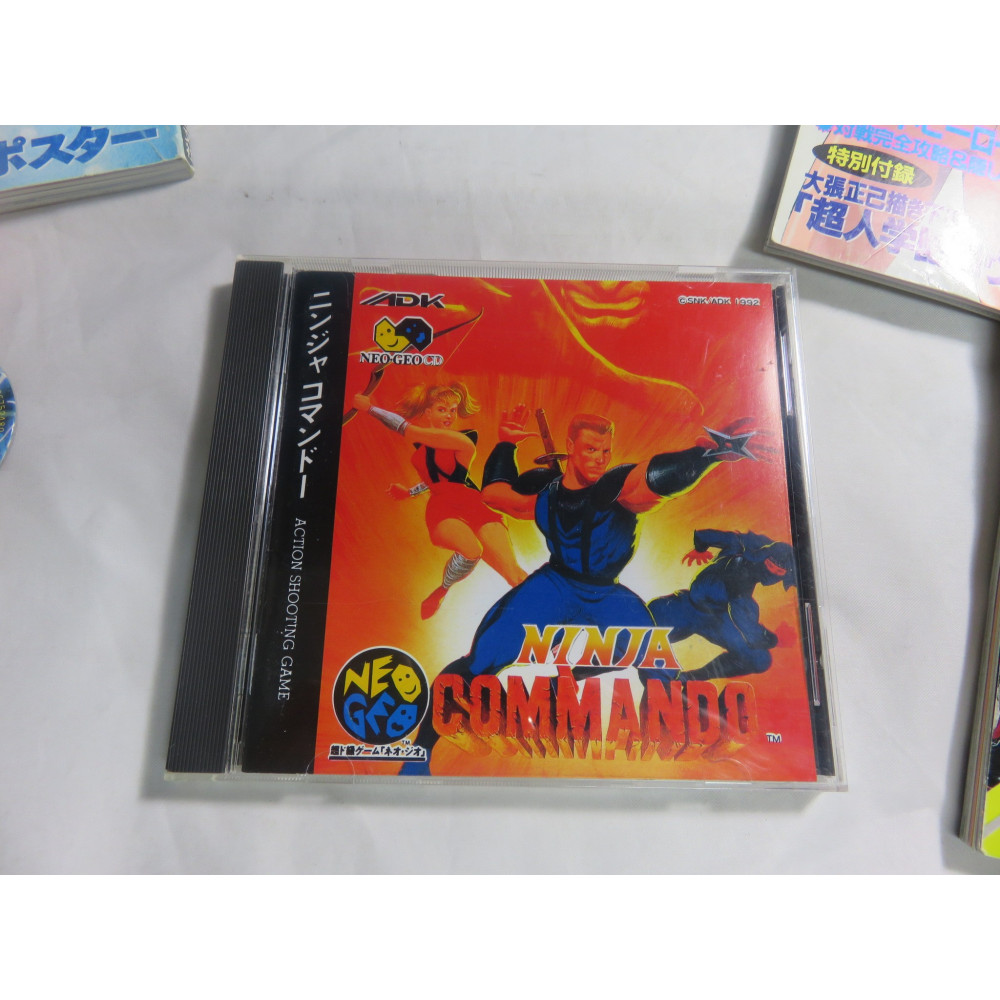 NINJA COMMANDO NEOGEO CD NTSC-JPN OCCASION