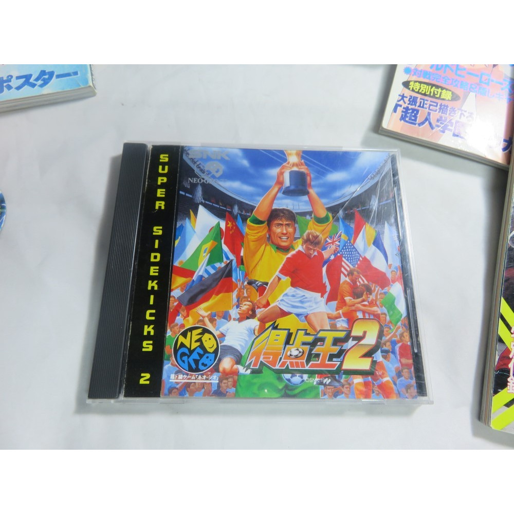 SUPER SIDEKICKS 2 NEOGEO CD JPN OCCASION IMPORT FR