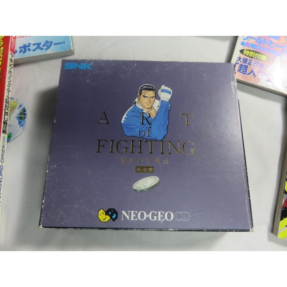 ART OF FIGHTING 3: THE PATH OF THE WARRIOR LIMITED EDITION NEO GEO CD NTSC-JPN OCCASION
