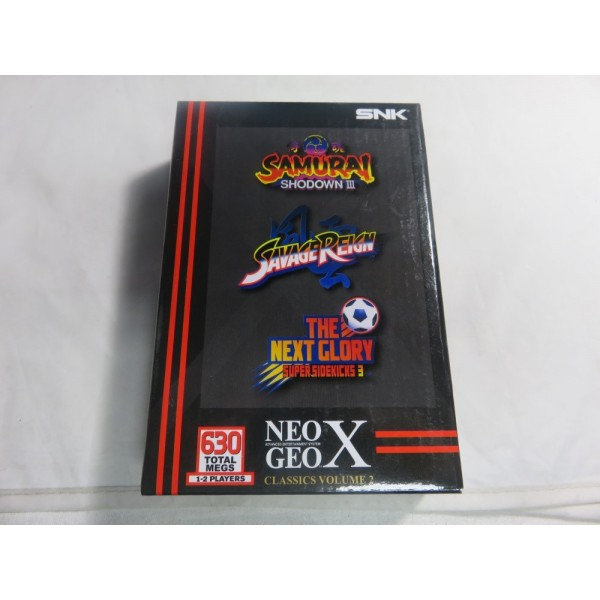 NEOGEO X GAMES CLASSICS VOLUME 2 NEW