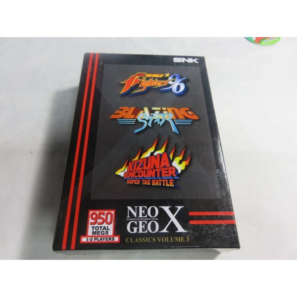 NEOGEO X GAMES CLASSICS VOLUME 3 NEW