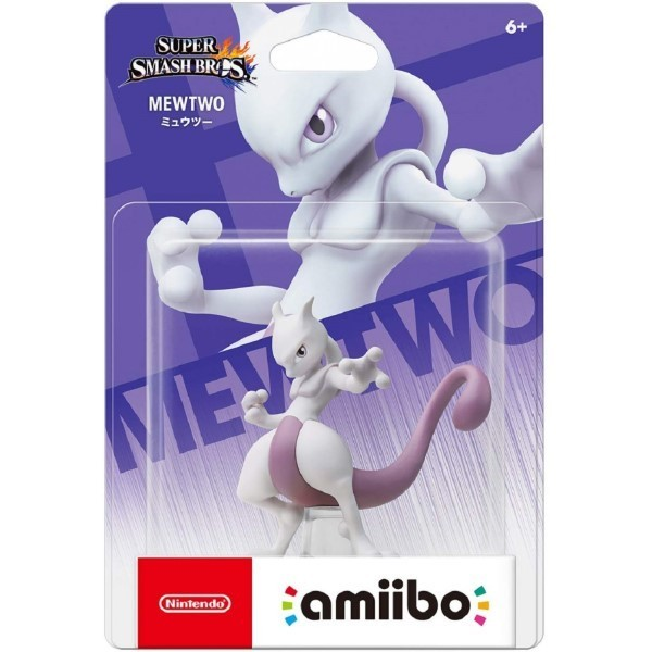 AMIIBO SUPER SMASH BROS MEWTWO JAP NEW