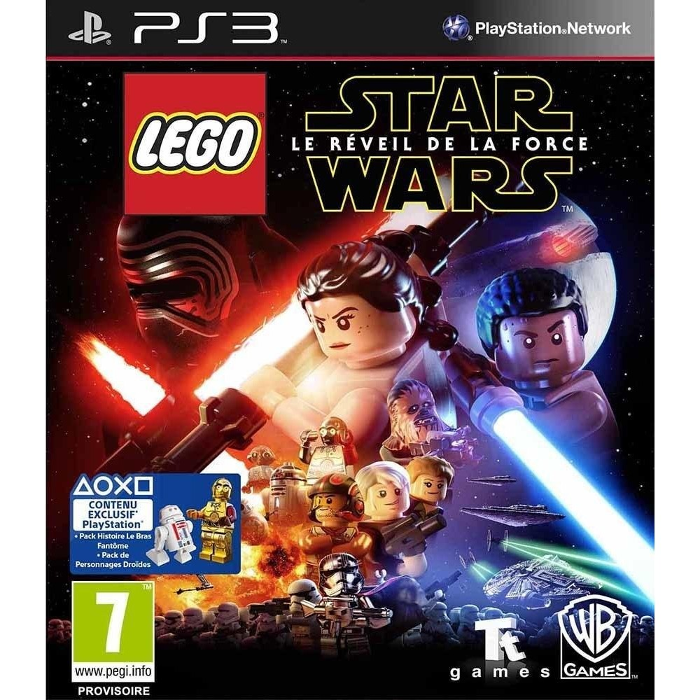 LEGO STAR WARS LE REVEIL DE LA FORCE PS3 FR NEW