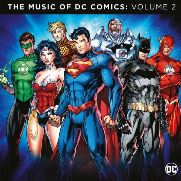 VINYLE THE MUSIC OF DC COMICS : VOLUME 2 (ATTHEMOVIES) NEW
