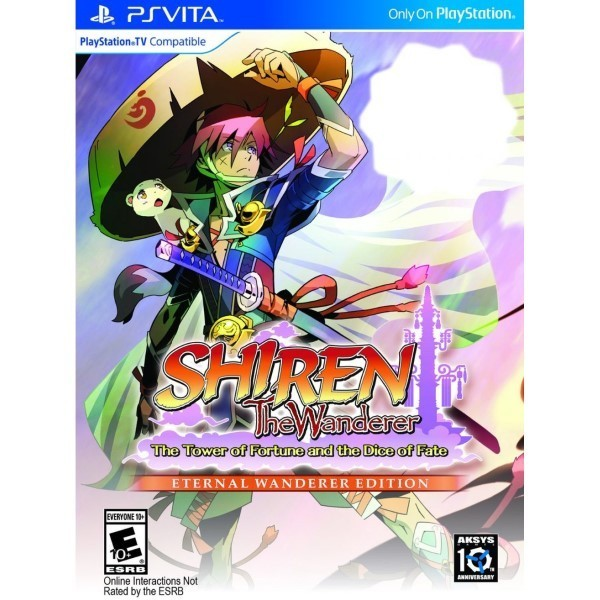SHIREN THE WANDERER THE TOWER OF FORTUNE AND THE DICE OF FATE (ETERNAL WANDERER EDITION) PSVITA US NEW