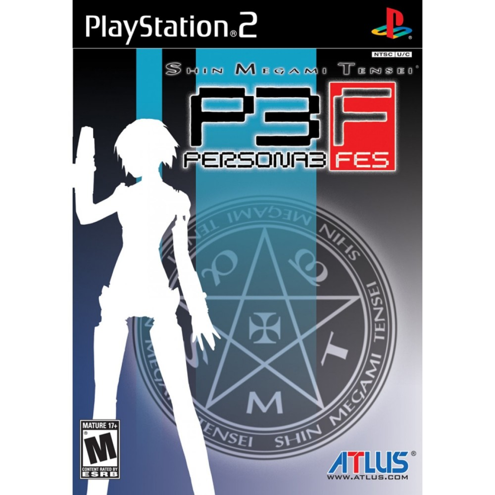 SHIN MEGAMI TENSEI PERSONA 3 FES PS2 NTSC-USA NEW