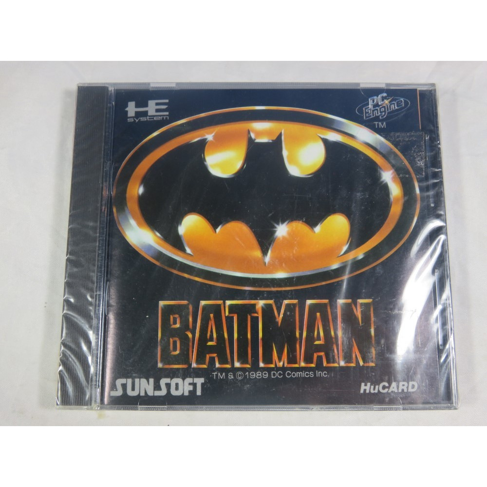 BATMAN NEC HUCARD NTSC-JPN NEUF (NEW FACTORY SEALED)