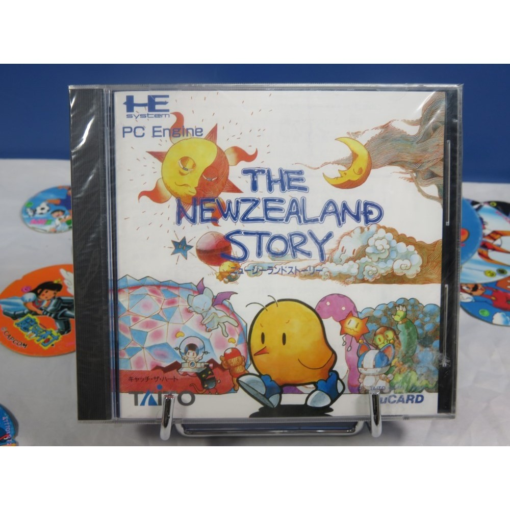 THE NEWZEALAND STORY NEC HUCARD NTSC-JPN NEUF (NEW FACTORY SEALED)