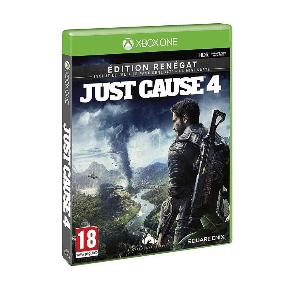 JUST CAUSE 4 EDITION RENEGAT XBOX ONE FR NEW