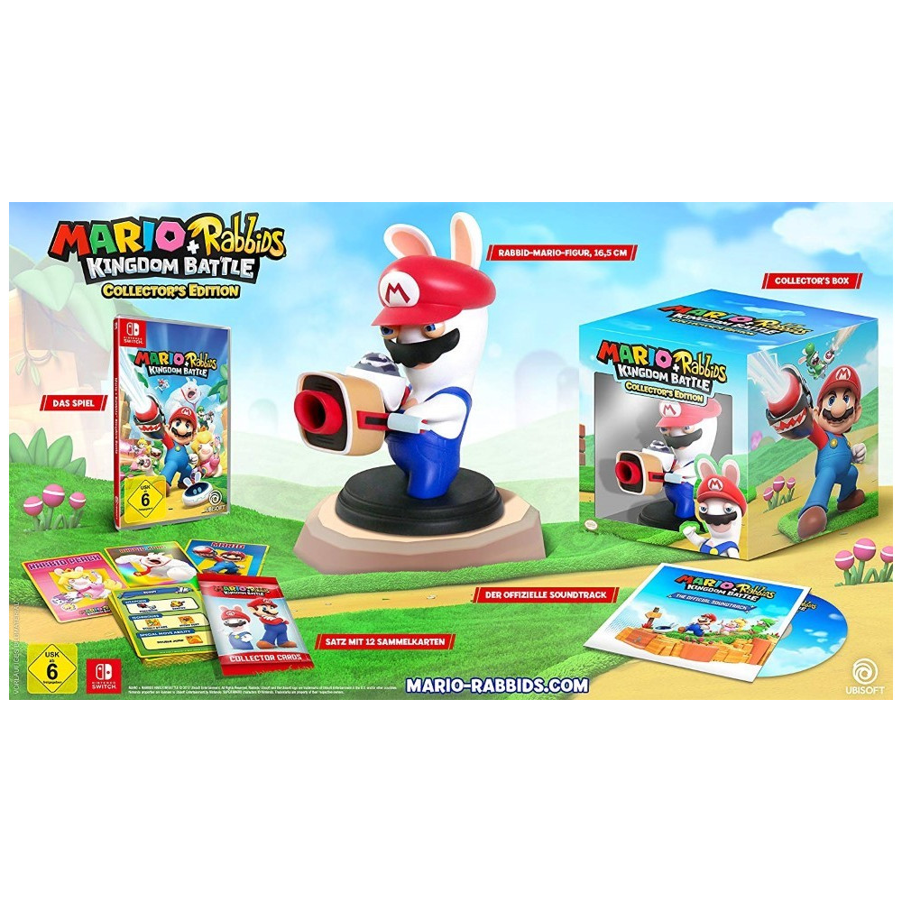 MARIO + RABBIDS KINGDOM BATTLE COLLECTOR SWITCH EURO UK OCCASION