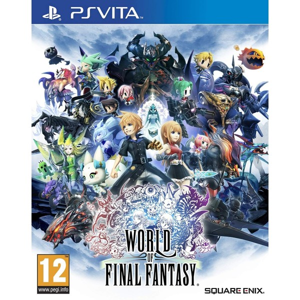 WORLD OF FINAL FANTASY PSVITA FR NEW