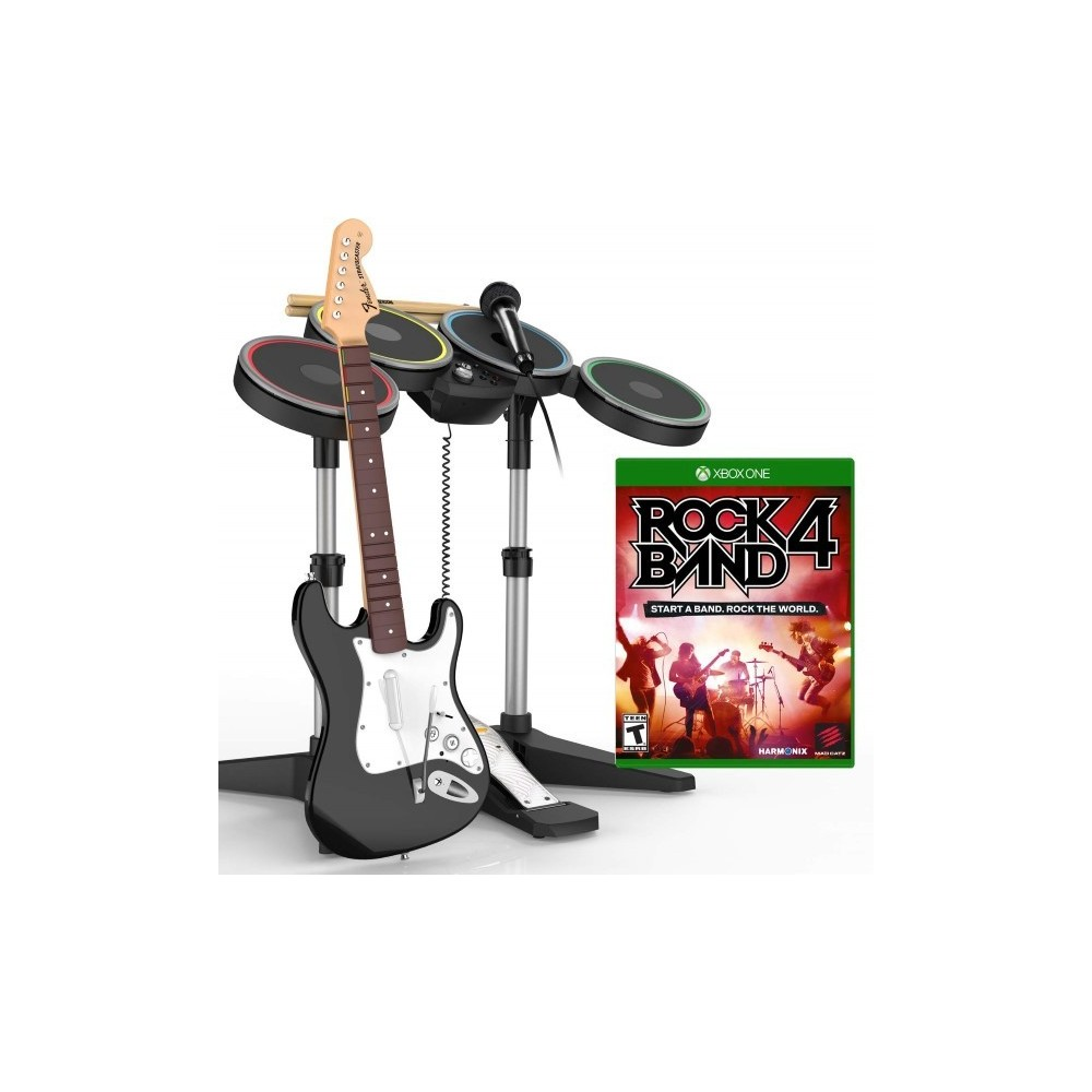 ROCKBAND 4 BAND IN A XBOX XONE FR OCCASION