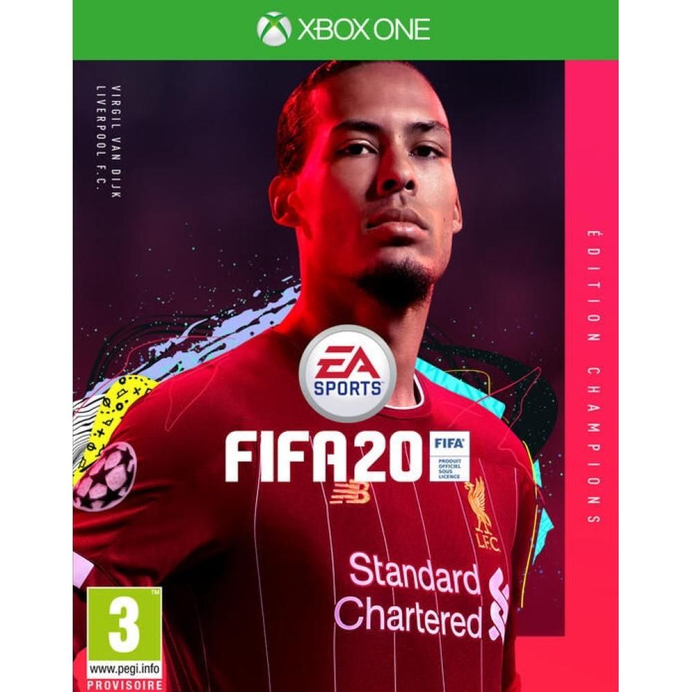 FIFA 2020 CHAMPIONS EDITION XBOX ONE ALLEMAND AVEC TEXTE EN FRANCAIS OCCASION
