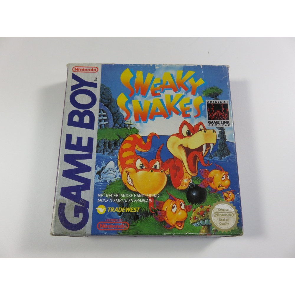 SNEAKY SNAKES GAMEBOY FAH OCCASION