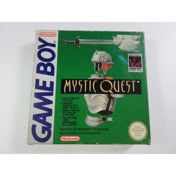 MYSTIC QUEST GAMEBOY FRA OCCASION (AVEC CARTE)